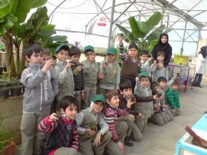 آموزش باغبانی به مدارس