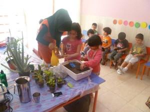 آموزش باغبانی به مهد کودک ها